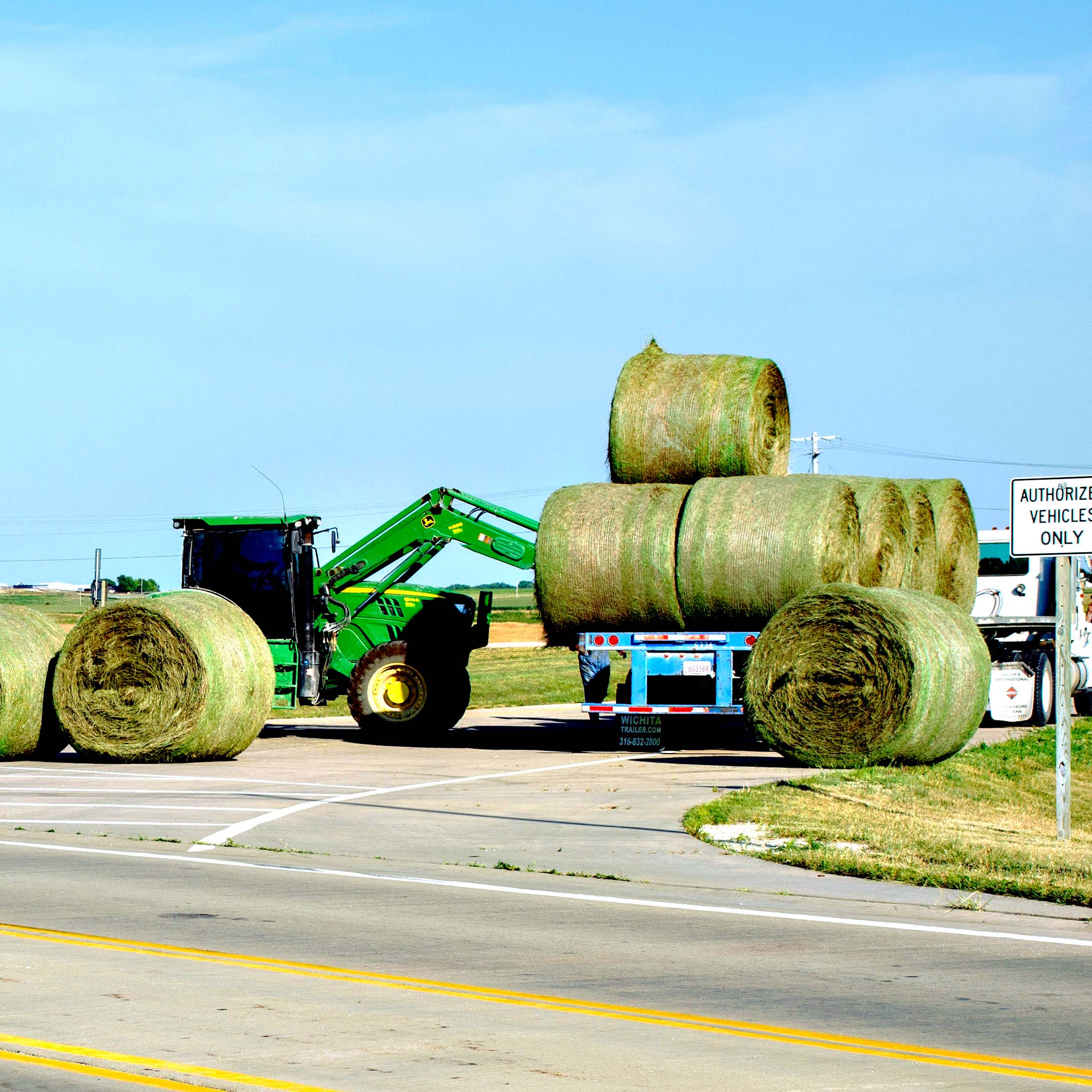 Fill-in quarterback Brooks Garners searches for an open Hillsboro receiver as Connor Morey takes aim on a would-be Haven defender during early action in the Trojans' 14-13 loss to the Wildcats at Haven.